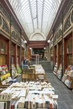 Belgium Brussels,The Bortier gallery iis a covered passage Stock Photography