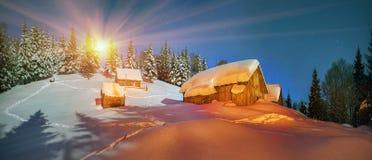 Borttappad alpin by Royaltyfri Fotografi