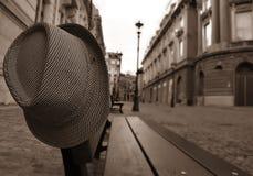 Borttappad hatt Arkivfoton