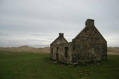 Borttappad by i Aberdeenshire, Skottland Arkivfoto