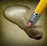 Borttappad kreativitet stock illustrationer