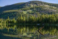 Borttappad sjö - Colorado Royaltyfri Fotografi