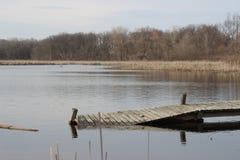 Borttappat i floden royaltyfri fotografi