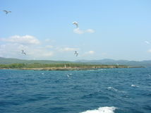 Borttappat i havet Royaltyfri Fotografi