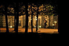Borttappat in i natten Royaltyfri Fotografi