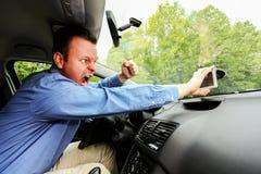 Borttappat och tokigt på GPS apparaten Arkivfoton