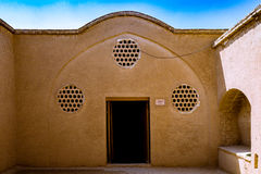 The Borujerdi House is a historic house in Kashan, Iran. The house was built in 1857 by architect Ustad Ali Maryam, for the wife o Stock Image