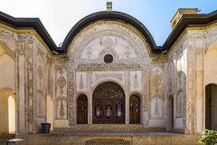 The Borujerdi House is a historic house in Kashan, Iran. The house was built in 1857 by architect Ustad Ali Maryam, for the wife o Royalty Free Stock Image