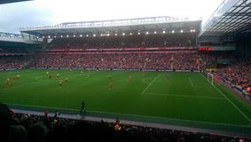 Borussia Dortmund 0 di Liverpool 4 Fotografie Stock