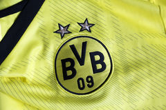 Borussia Dortmund emblem. Royalty Free Stock Photography