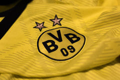 Borussia Dortmund emblem. Stock Photo