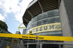 Borussia Dortmund - estádio Imagens de Stock Royalty Free