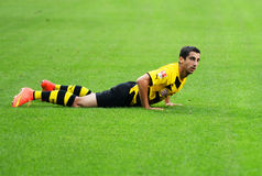 Borussia Dortmund Henrikh Mkhitaryan Images libres de droits