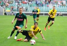 Borussia Dortmund Henrikh Mkhitaryan Lizenzfreies Stockfoto