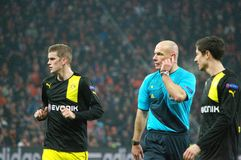 Borussia Dortmund i mästareliga Royaltyfri Foto