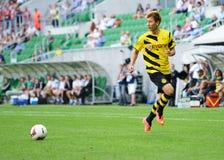 Borussia Dortmund. Ji Dong-Won Royalty Free Stock Photos