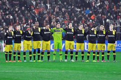 Borussia Dortmund junto Foto de archivo libre de regalías