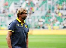 Borussia Dortmund Jurgen Klopp Immagine Stock Libera da Diritti