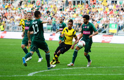 Borussia Dortmund. Pierre-Emerick Aubameyan Stock Image