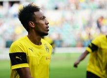 Borussia Dortmund. Pierre-Emerick Aubameyang Royalty Free Stock Images