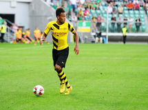 Borussia Dortmund. Pierre-Emerick Aubameyang Stock Photo