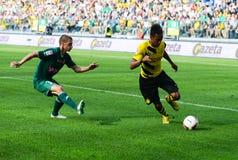Borussia Dortmund. Pierre-Emerick Aubameyang Royalty Free Stock Photos