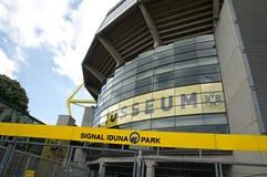 Borussia Dortmund - Stadium. Entrance to football stadium Borussia Dortmund - Signal Iduna Park  Germany Royalty Free Stock Images