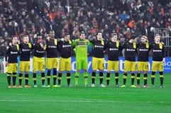 Borussia Dortmund tillsammans Royaltyfri Foto