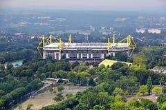 Borussia Dortmundstadion Arkivbilder
