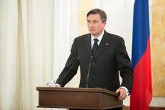Borut Pahor Royalty Free Stock Images