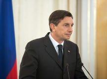 Borut Pahor Stock Photo