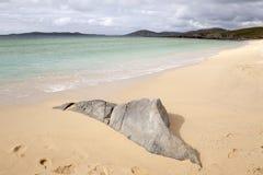 Borve strand, Isle av Harris royaltyfri foto