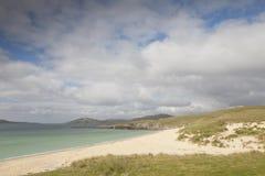 Borve strand; Isle av Harris arkivfoton
