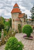 Bory Castle in Szekesfehervar Royalty Free Stock Photo