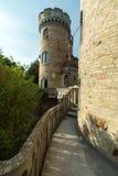 Bory Var, castillo agraciado construido por un hombre Bory Jeno en el Szek foto de archivo