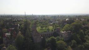 Bory varietà, castello grazioso costruito dall'un uomo Bory Jeno nello Szekesfehervar, Ungheria video d archivio