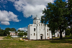 Borys-Hlib Cathedral of Chernihiv Stock Image