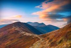 Borzhava ridge_1 Стоковое Изображение