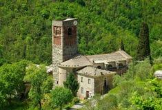 Borzone Abbazia di Sant安德里亚 免版税库存图片
