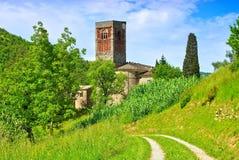 Borzone Abbazia di Sant Andrea Imagenes de archivo