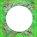 Bos frame cirkel Royalty-vrije Stock Fotografie