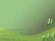 Bos Golf royalty-vrije illustratie