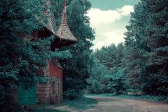 Bos landschap royalty-vrije stock afbeeldingen
