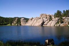 Bos- meer, Zuid-Dakota stock foto