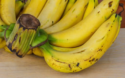 Bos rijpe bananen Stock Afbeelding