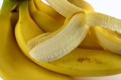 Bos van Bananen Royalty-vrije Stock Afbeelding