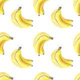 Bos van bananenpatroon stock illustratie