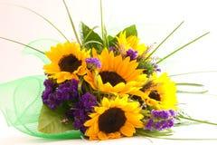 Bos van bloemen stock foto's