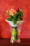 Bos van bloemen Stock Afbeelding