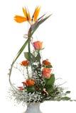 Bos van bloemen. Stock Afbeeldingen